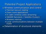 potential project applications
