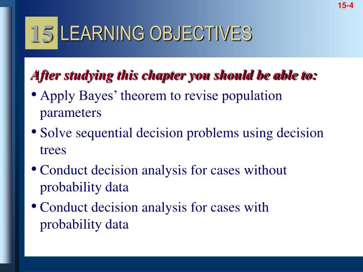 Apply Bayes' theorem to revise population parameters