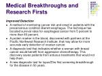 medical breakthroughs and research firsts3