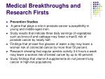 medical breakthroughs and research firsts4