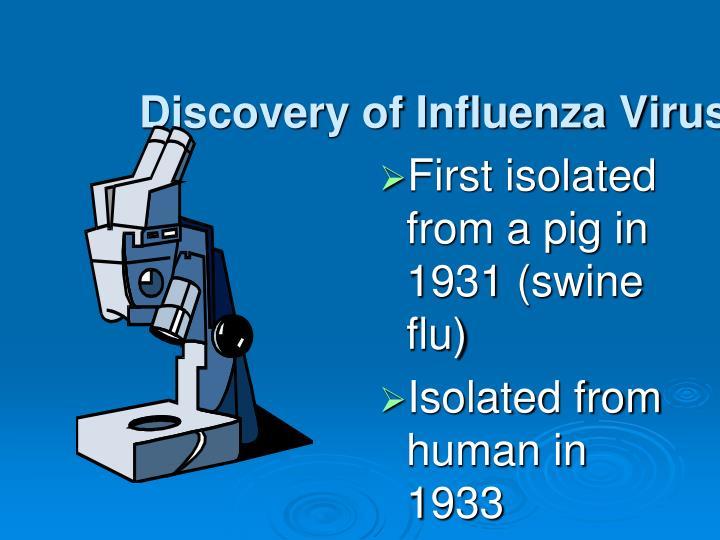 Discovery of Influenza Virus