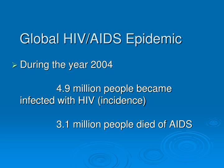 Global HIV/AIDS Epidemic