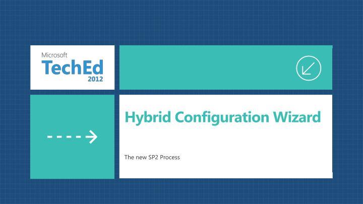 Hybrid Configuration Wizard