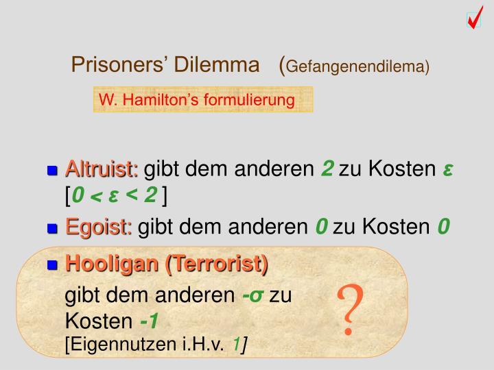 Prisoners' Dilemma   (