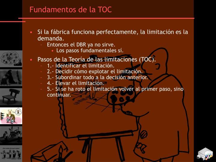 Fundamentos de la TOC