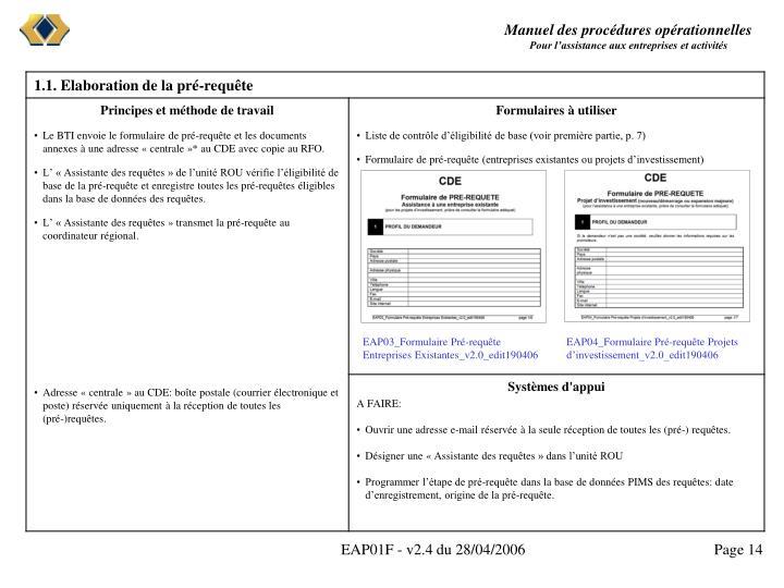 EAP03_Formulaire Pré-requête Entreprises Existantes_v2.0_edit190406