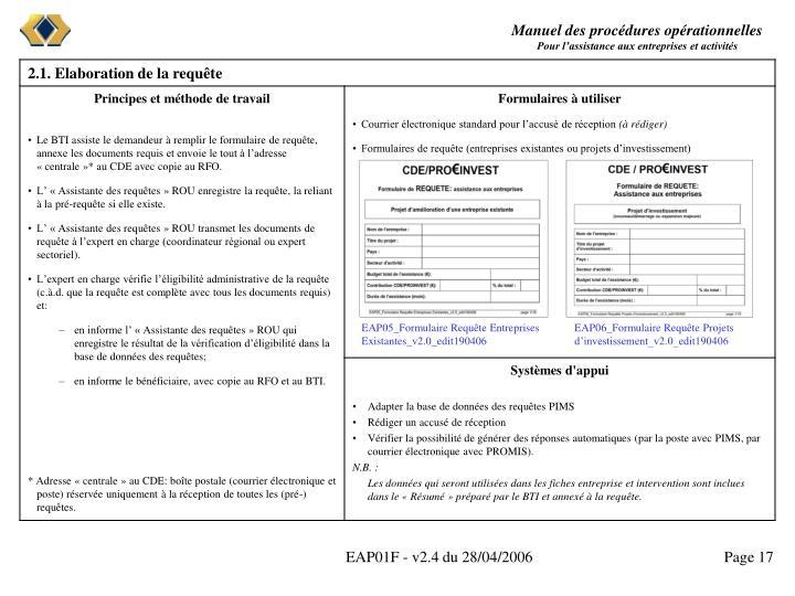 EAP05_Formulaire Requête Entreprises Existantes_v2.0_edit190406