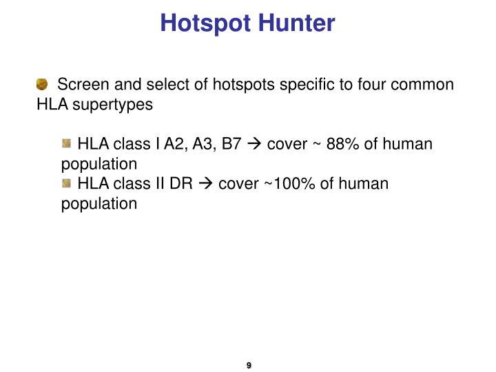 Hotspot Hunter