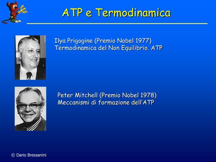 ATP e Termodinamica