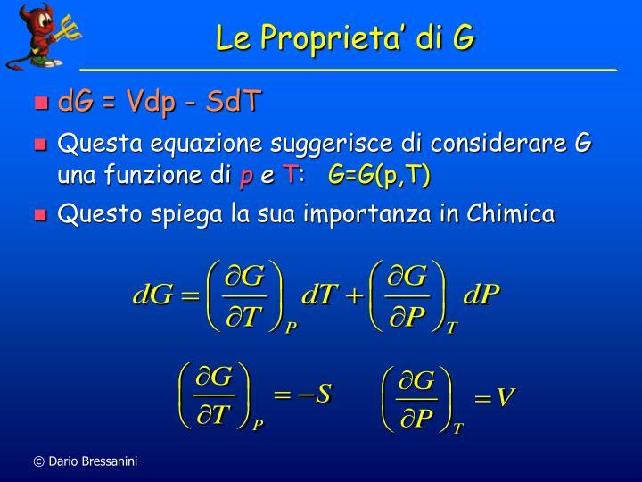 Le Proprieta' di G