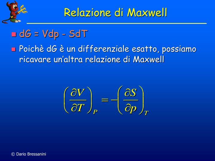 Relazione di Maxwell