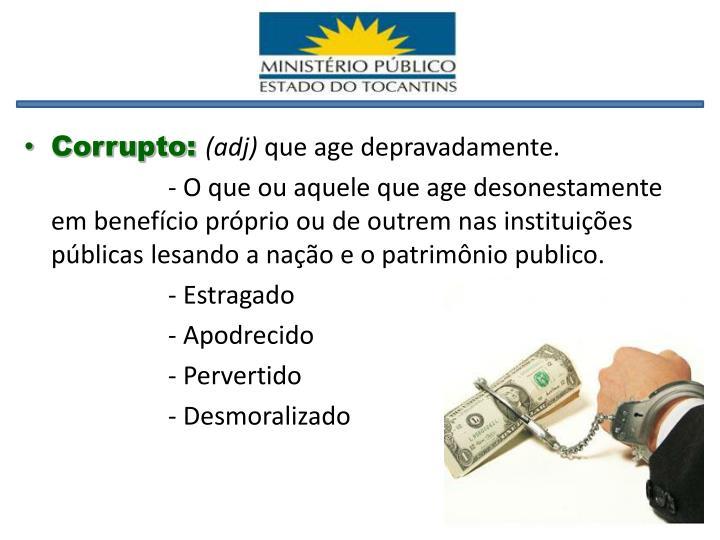 Corrupto: