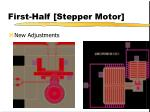 first half stepper motor3