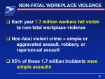 non fatal workplace violence1