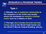 research program trends1