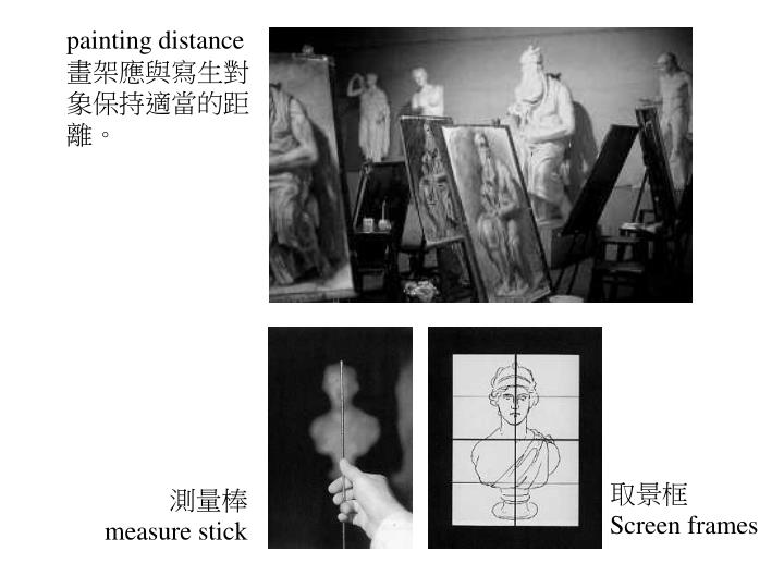 painting distance