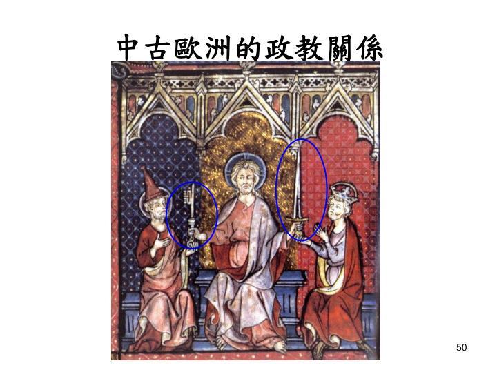 中古歐洲的政教關係