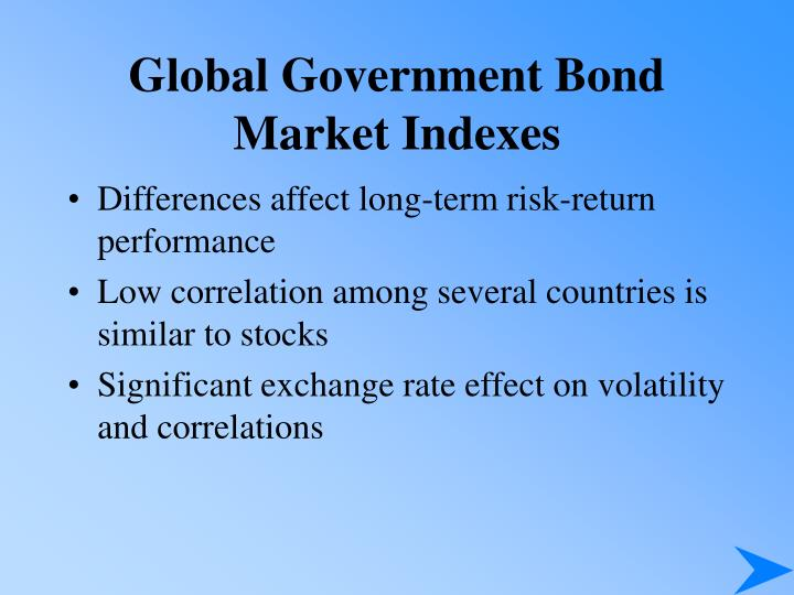 Global Government Bond Market Indexes