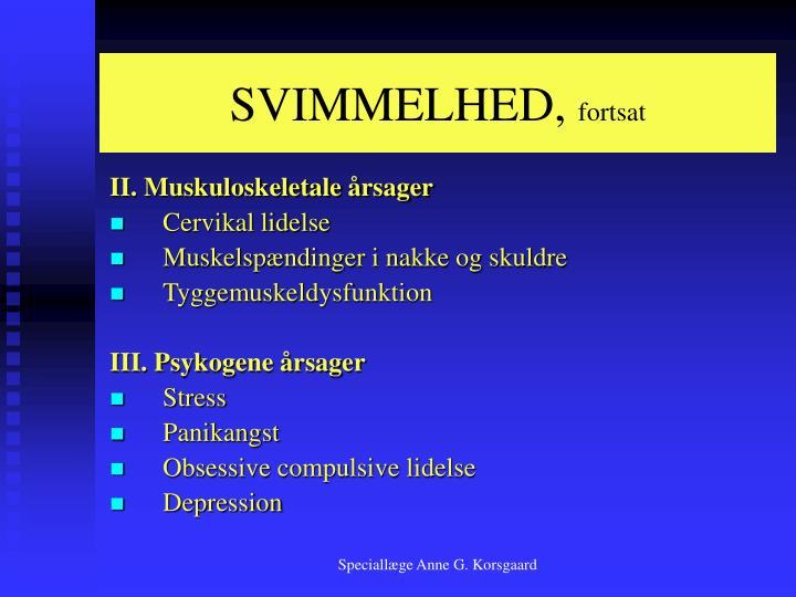 SVIMMELHED,