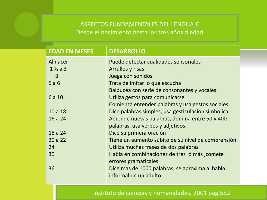 ASPECTOS FUNDAMENTALES DEL LENGUAJE