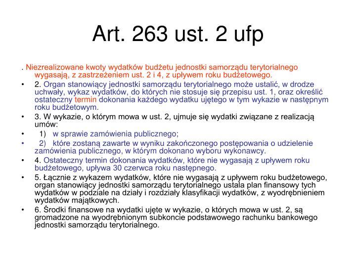 Art. 263 ust. 2 ufp