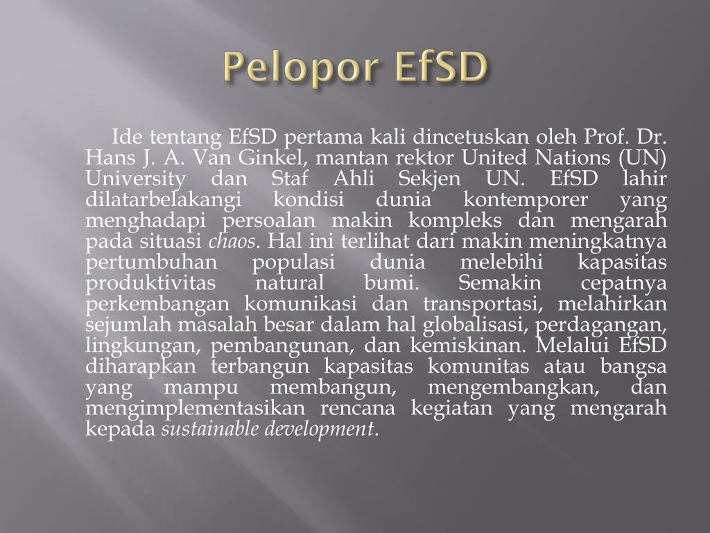 Pelopor EfSD