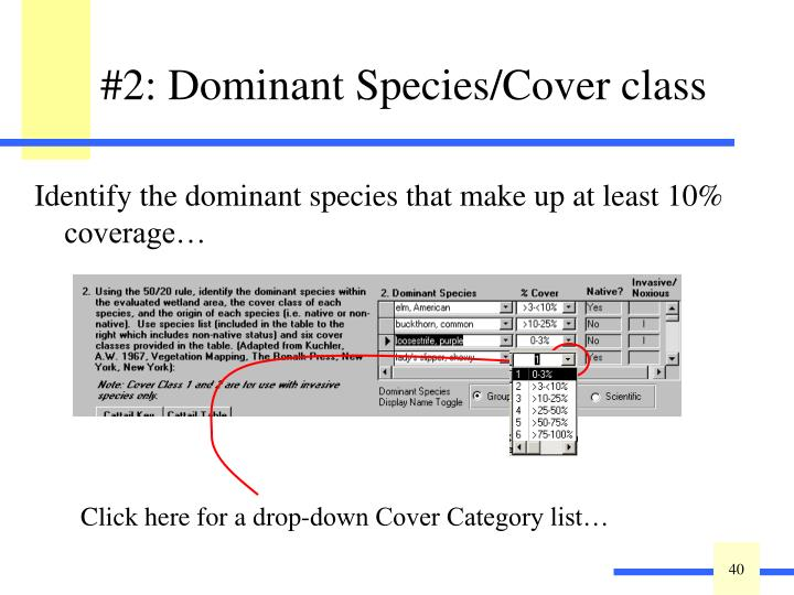 Click here for a drop-down Cover Category list…