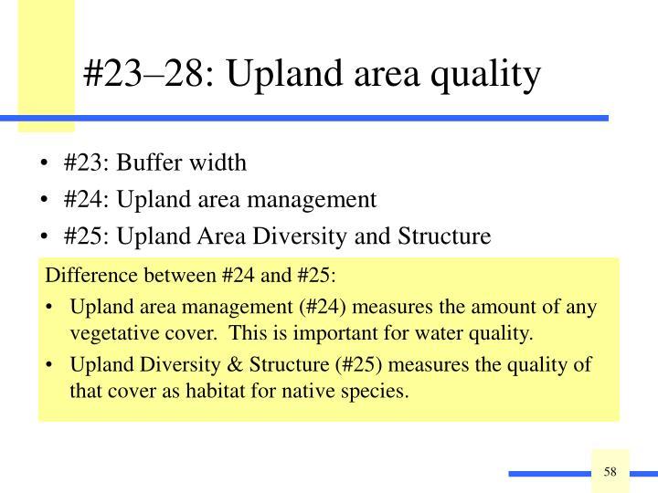 #23: Buffer width