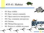 35 41 habitat