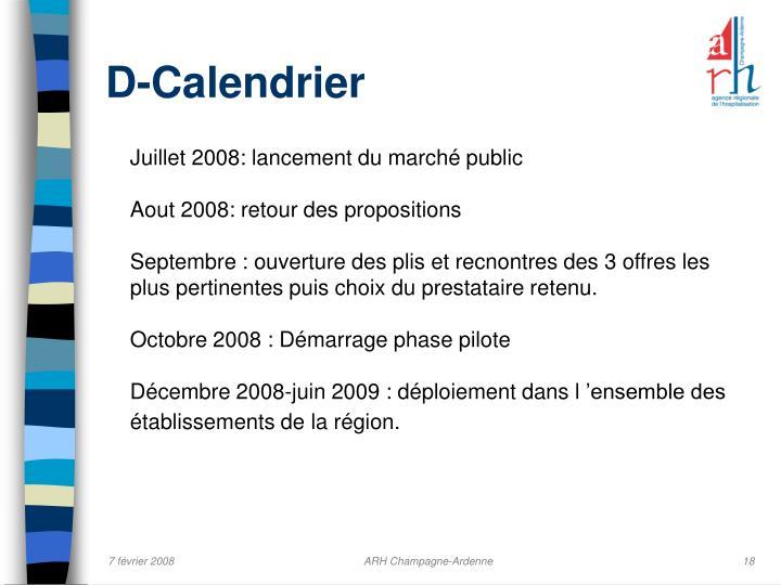 D-Calendrier