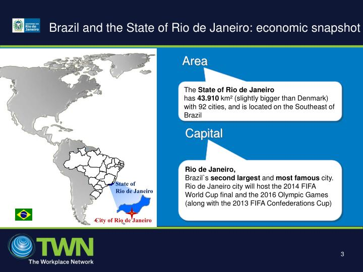 Brazil and the state of rio de janeiro economic snapshot
