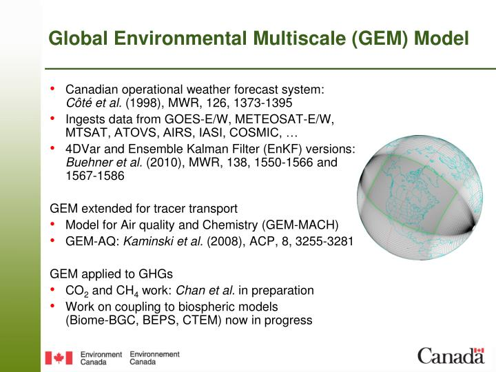 Global Environmental Multiscale (GEM) Model