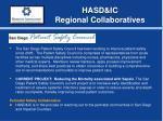 hasd ic regional collaboratives