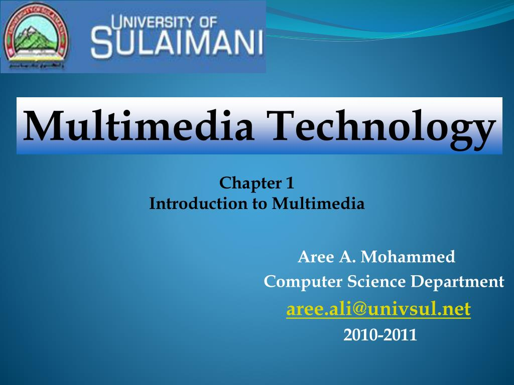 Multimedia Technology