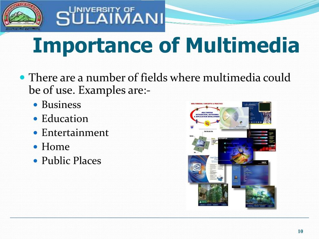 Importance of Multimedia