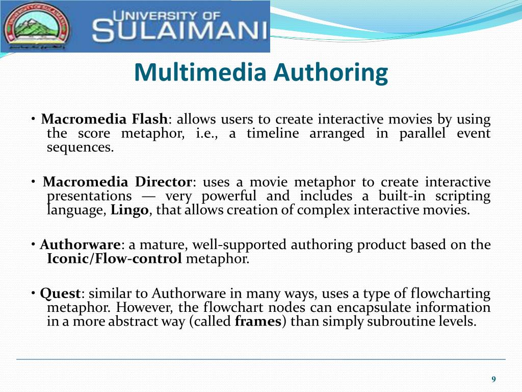 Multimedia Authoring