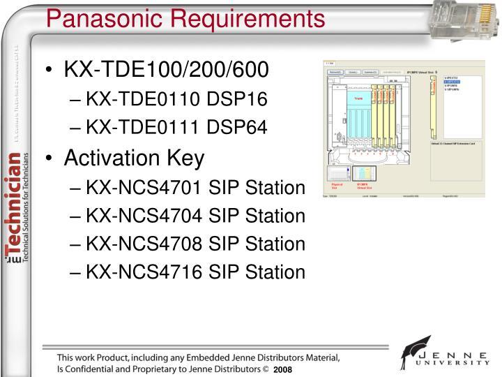 KX-TDE100/200/600