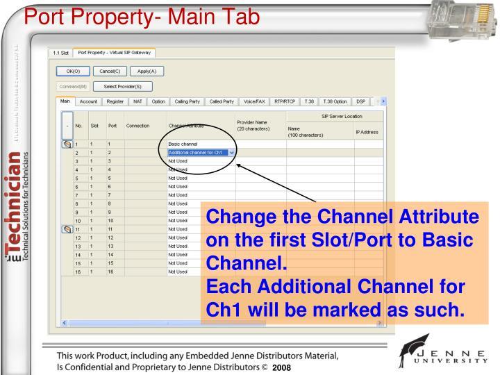 Port Property-
