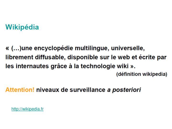 http://wikipedia.fr