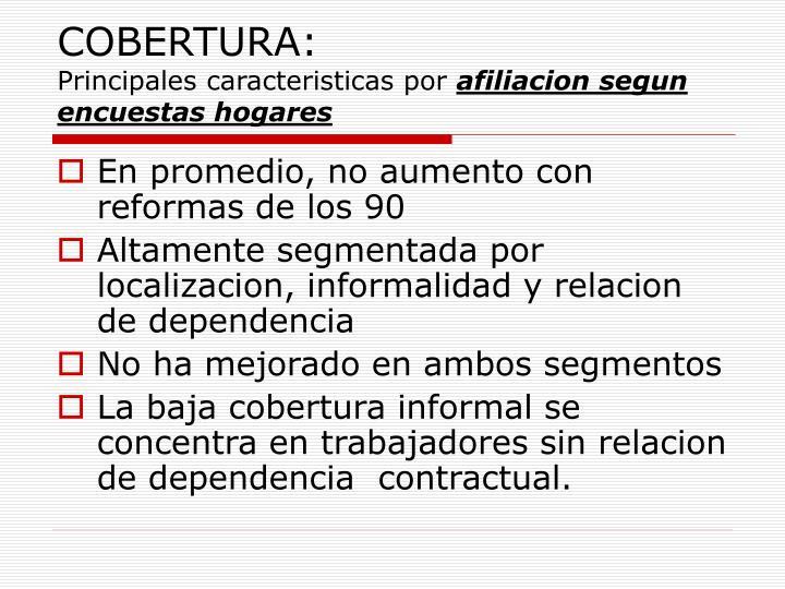COBERTURA: