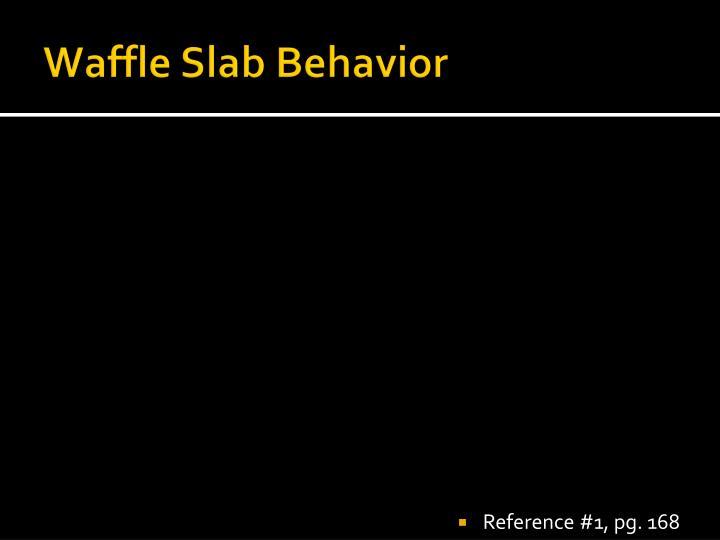 Waffle Slab Behavior