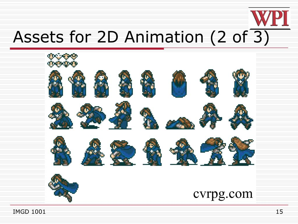 Assets for 2D Animation (2 of 3)