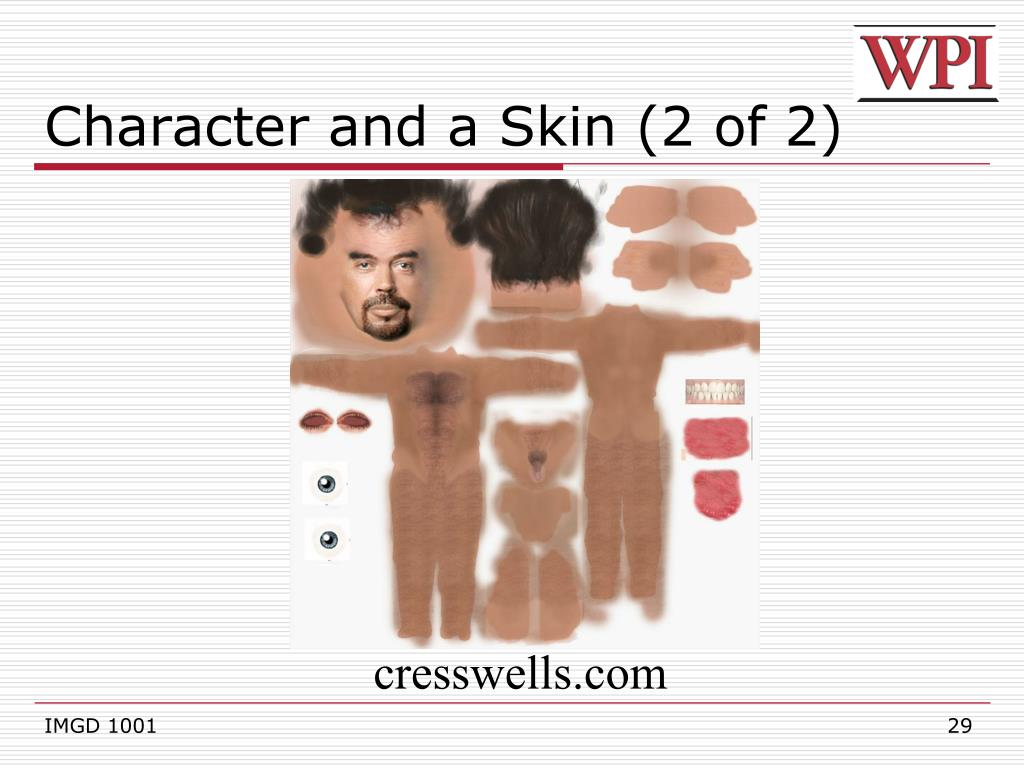 Character and a Skin (2 of 2)
