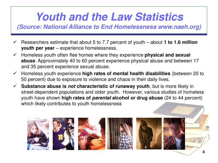 Youth and the Law Statistics