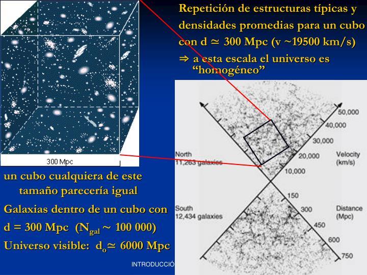 Repetición de estructuras típicas y