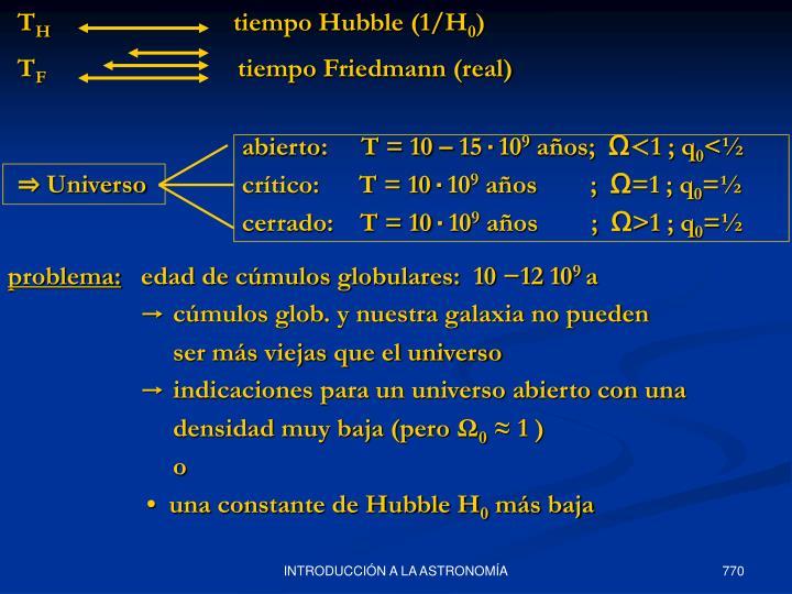 abierto:     T = 10 – 15