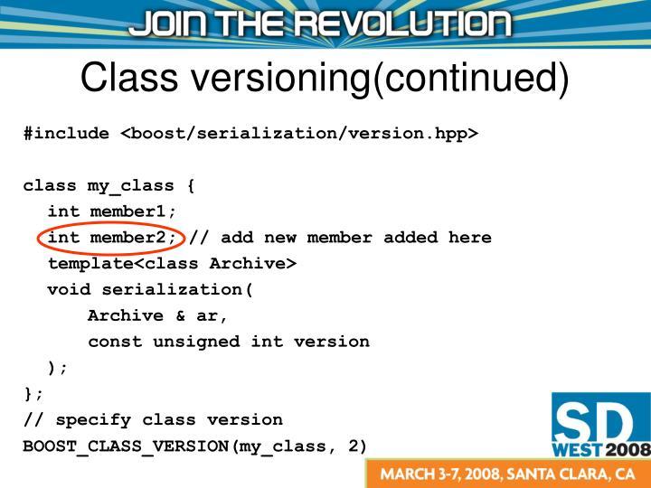 #include <boost/serialization/version.hpp>
