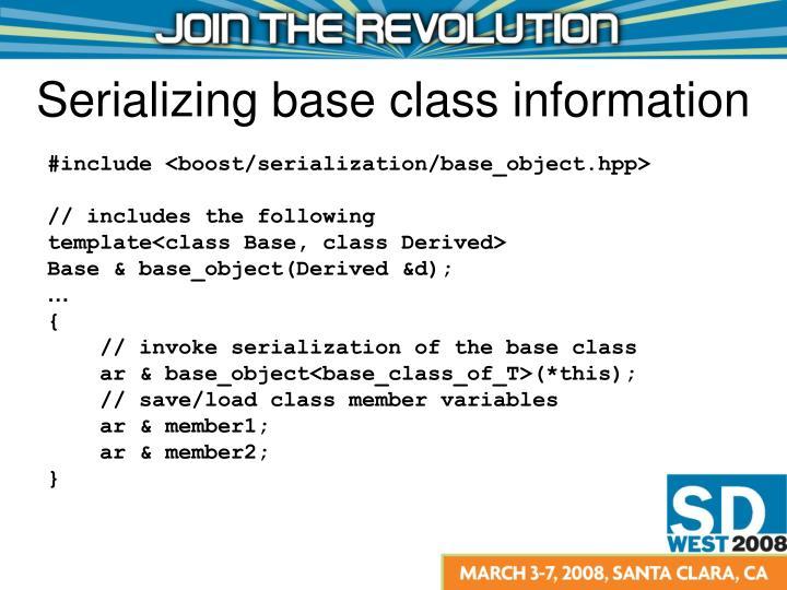 #include <boost/serialization/base_object.hpp>