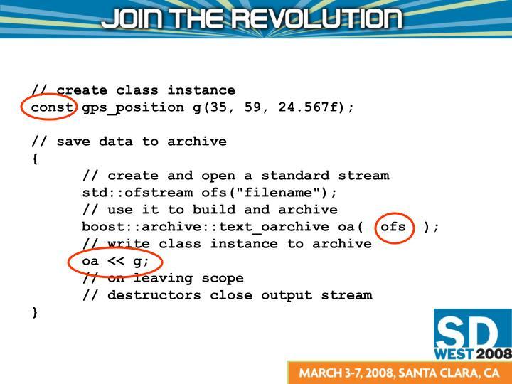 // create class instance