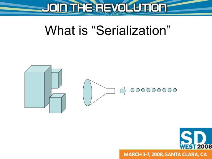 What is serialization